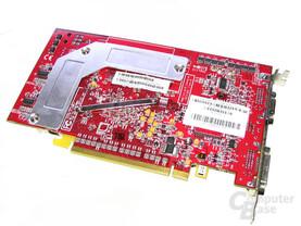 Rückseite Radeon X800 GTO²