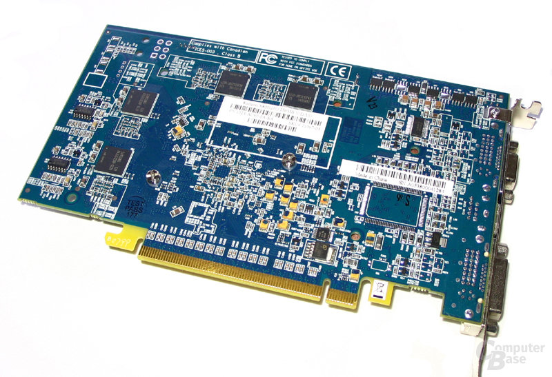 Rückseite Radeon X800 GTO