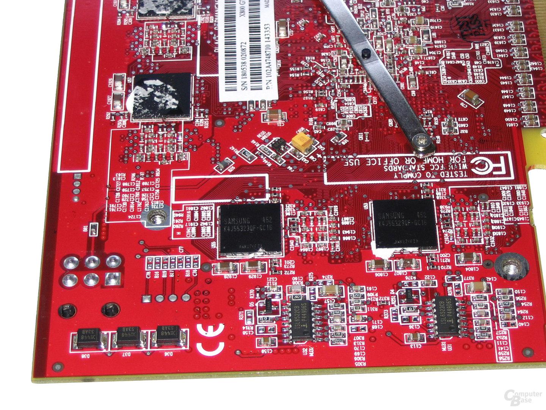 Radeon X800 GTO² Speicherbausteine