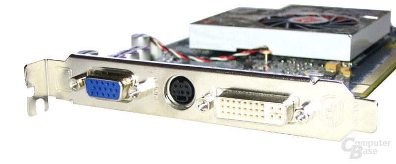 Slotblende Radeon X800 GT