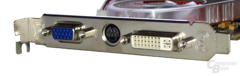 Slotblende Radeon X800 GTO