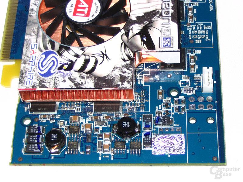 Spannungswandler Radeon X800 GT