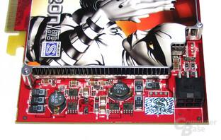 Spannungswandler Radeon X800 GTO²