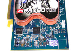 Spannungswandler Radeon X800 GTO