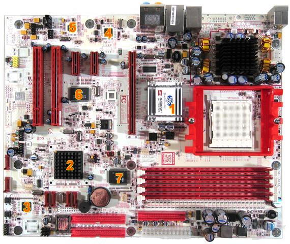 Sapphire PI A9RX480 Komponenten