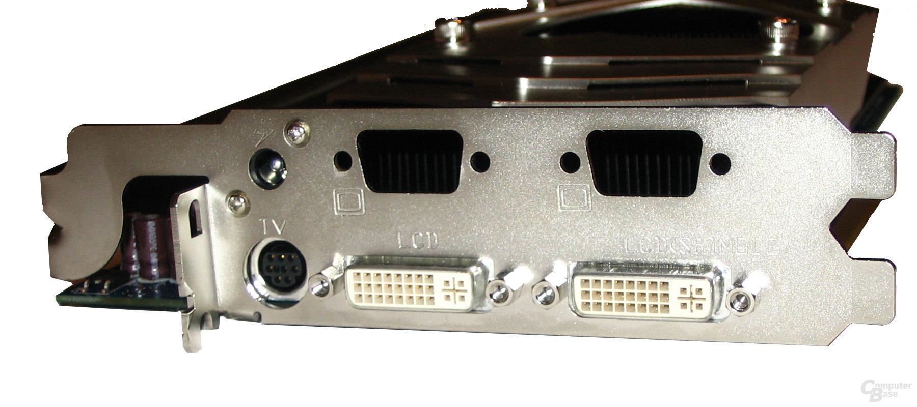 Slotblende N7800GT Dual