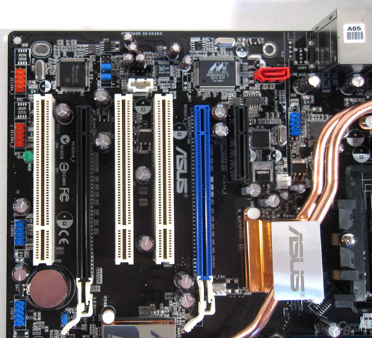 Mainboard unten links