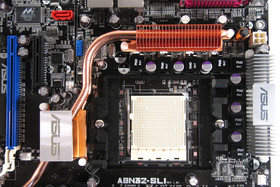 Mainboard oben links