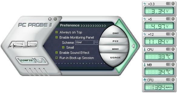 Asus PC Probe II
