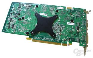 Rückseite GeForce 6800 GS