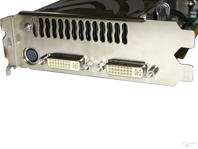 Slotblende GeForce 7800 GTX 512