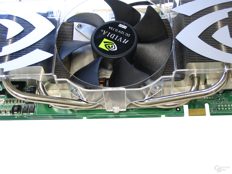 Heatpipes GeForce 7800 GTX 512