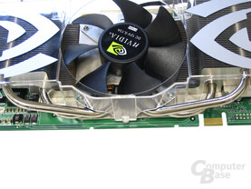 Heatpipes GeForce 7800 GTX 512
