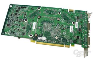 Rückseite GeForce 7800 GTX 512