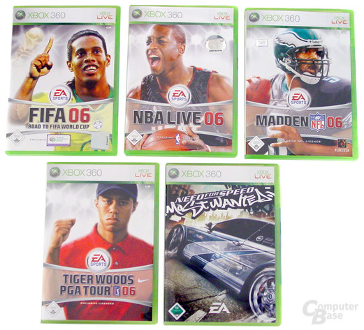 Electronic Arts Spiele zum Verkaufsstart