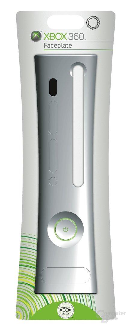 Xbox 360 Faceplate Silver