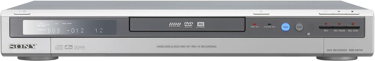 Sony HX710S DVD-Festplattenrekorder