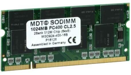 MDT SO-DIMM 1024
