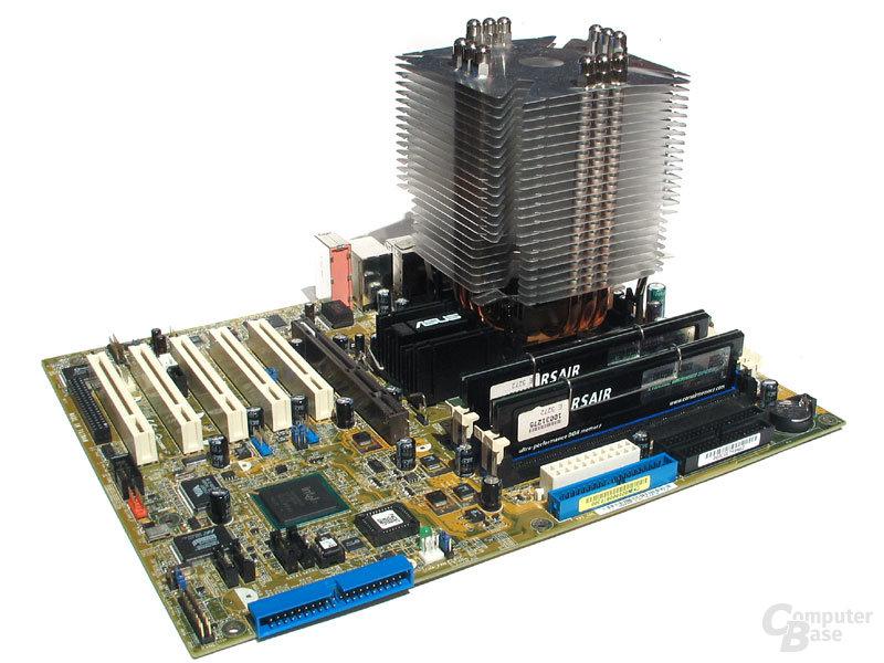 Pentium 4 Plattform passiv gekühlt