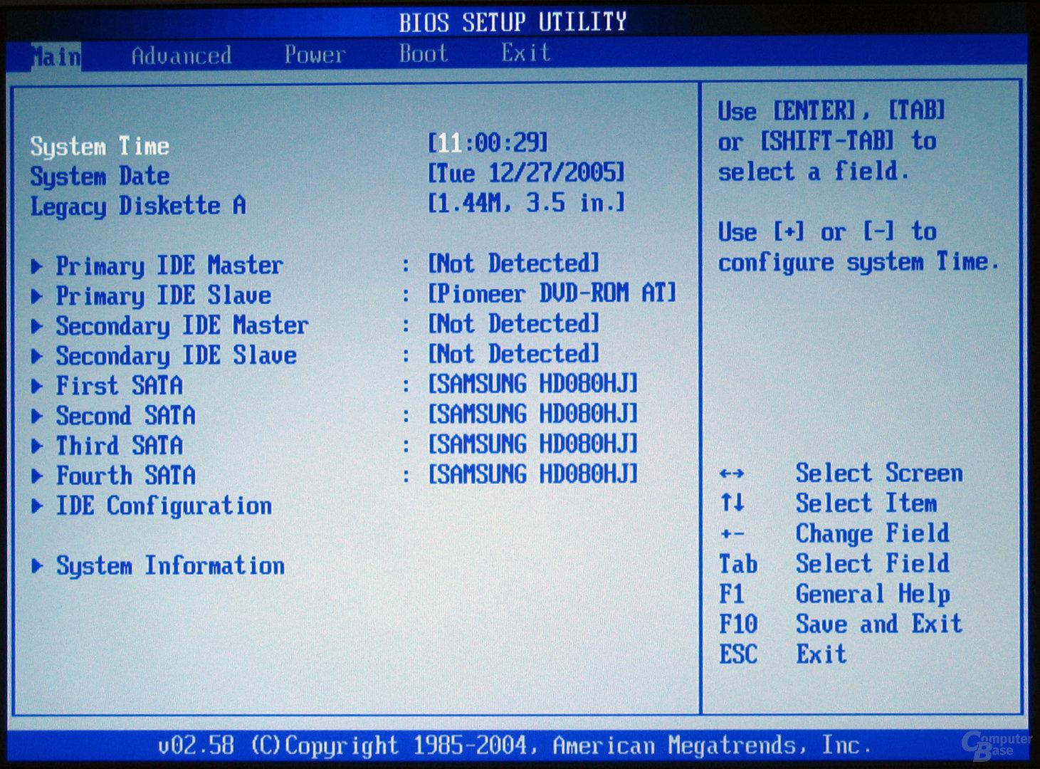 Asus BIOS