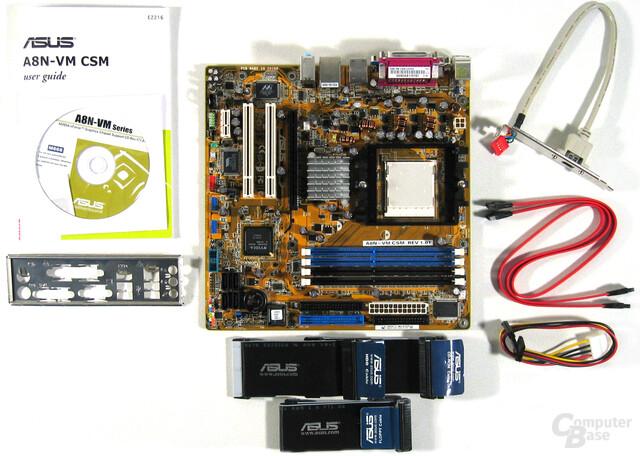 A8N-VM CSM Lieferumfang