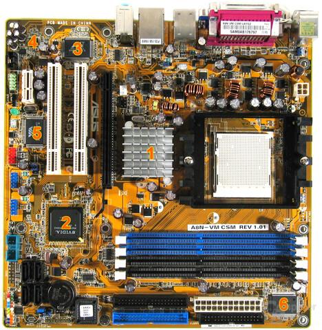 A8N-VM CSM Komponenten