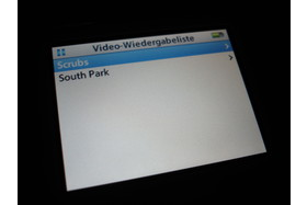 iPod video - Videowiedergabeliste
