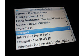 iPod video - Wiedergabelisten