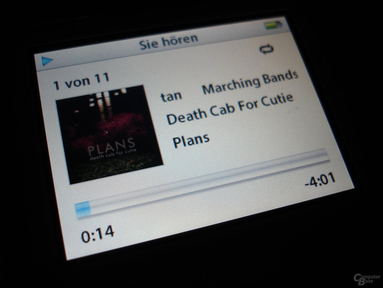 iPod video - Musikwiedergabe