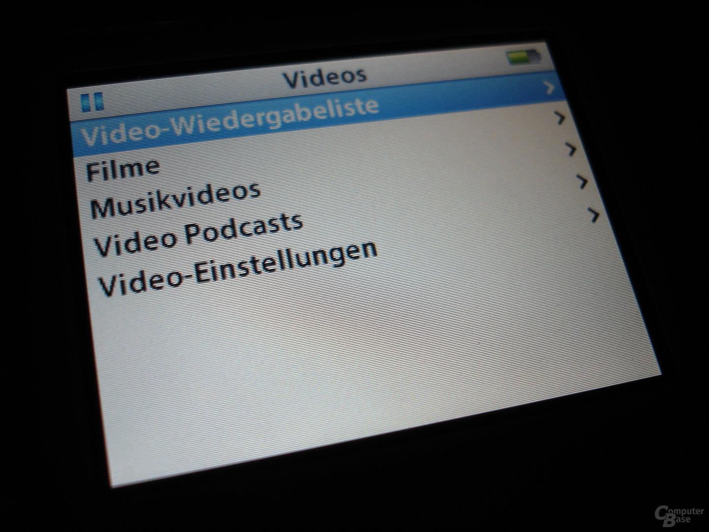 iPod video - Videowiedergabe