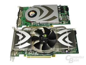 GeForce 7800 GTX 512 und 7800 GT
