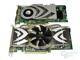 GeForce 7800 GTX 512 und 7800 GTX
