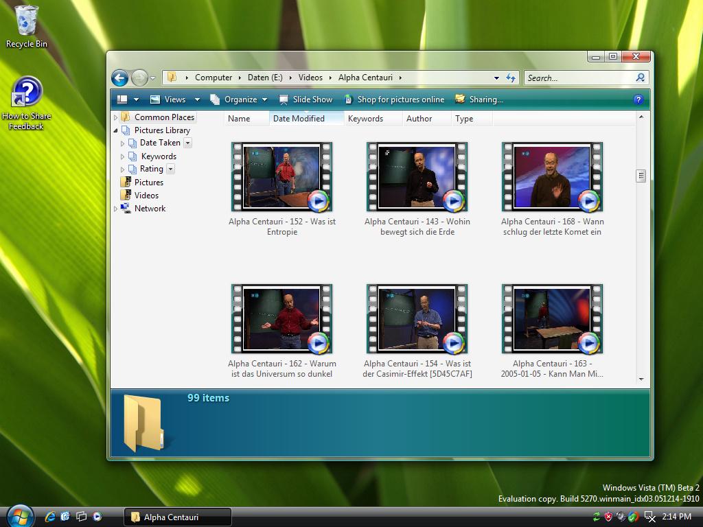 Explorer Video Preview
