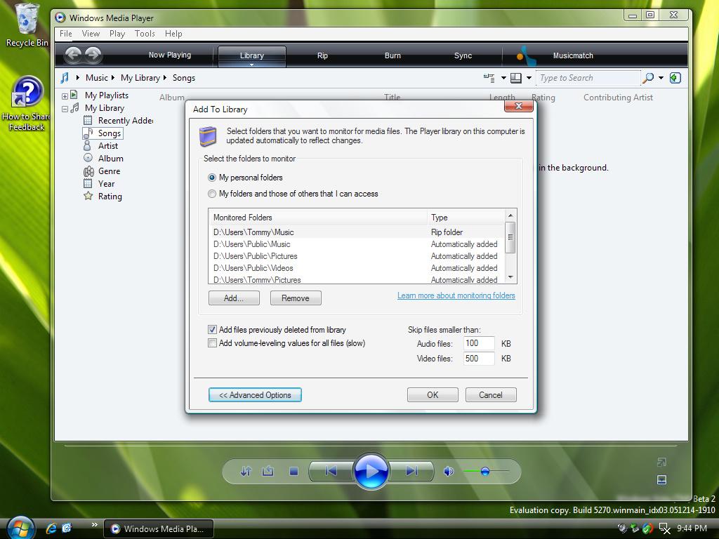 Windows Media Player 11