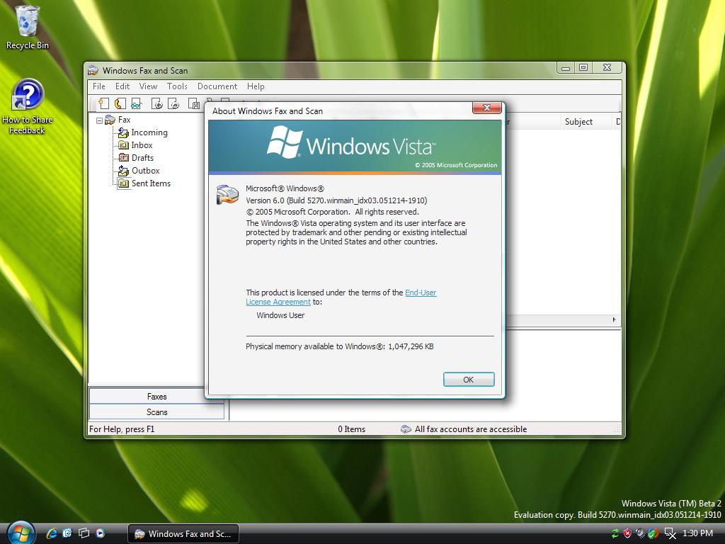 Windows Fax