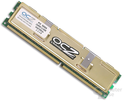 OCZ EL DDR PC-3200 Gold VX