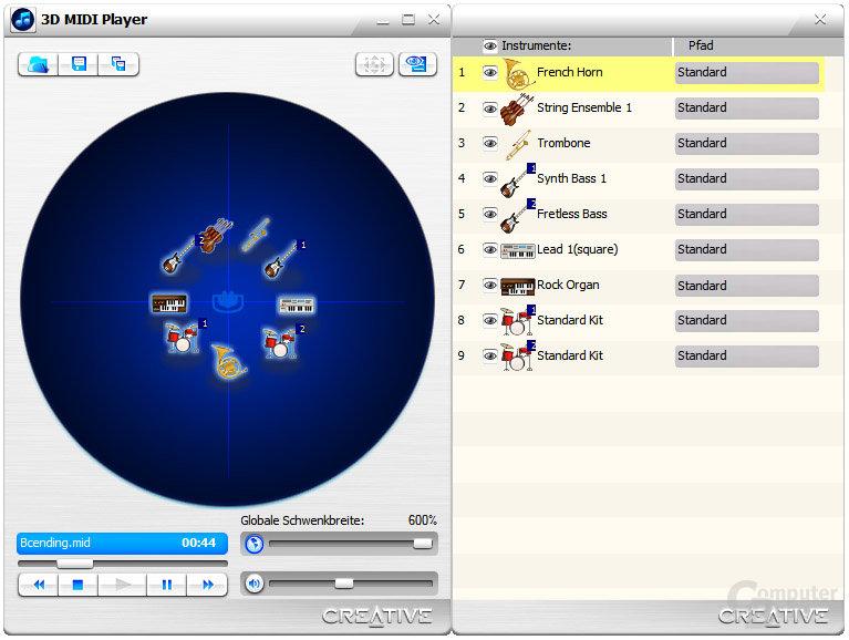 3D-MIDI Player