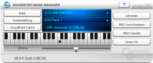 SoundFont Bank Manager