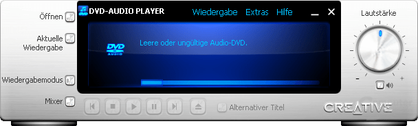 DVD-Audio Player