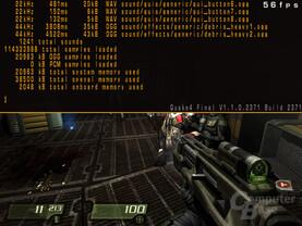 Quake 4 mit X-Fi Platinum