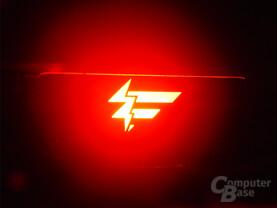 Fatal1ty-Logo an der X-Fi Fatal1ty FPS
