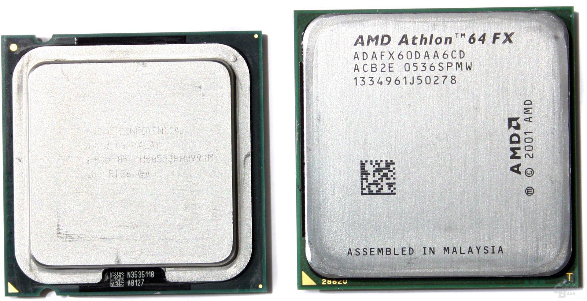 Pentium XE 955 vs. Athlon 64 FX-60