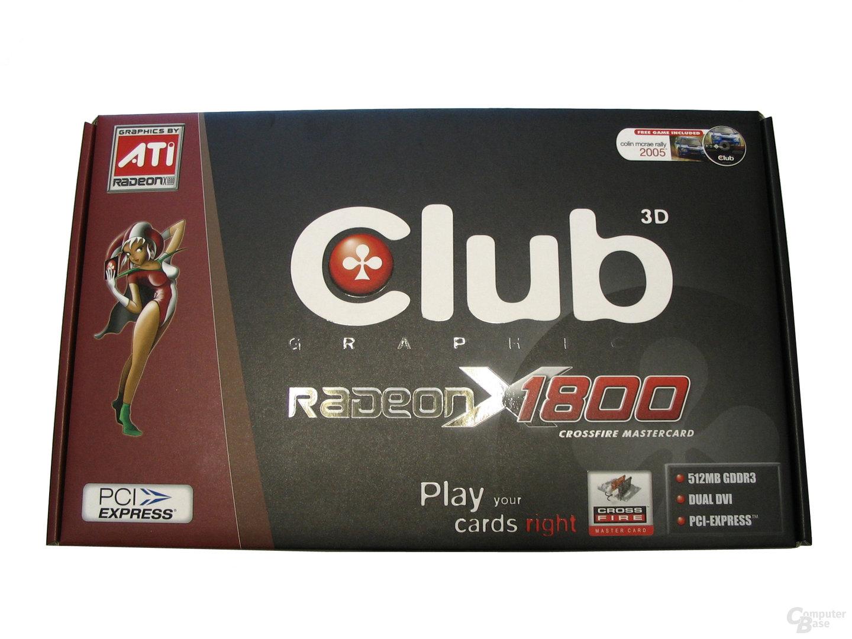 Club3D X1800 XT CF Verpackung