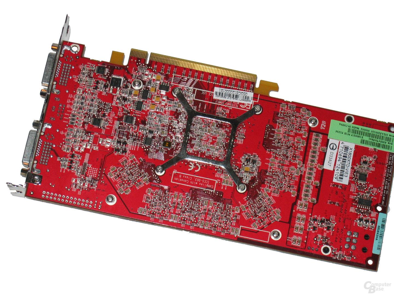 GeCube X1800 XT Rückseite
