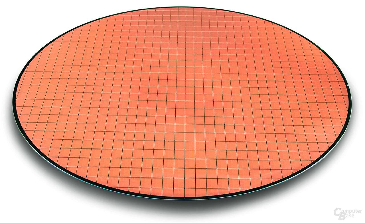 Wafer mit Intel Core Duo-Prozessoren