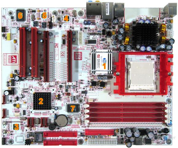 PC-A9RD480 Komponenten