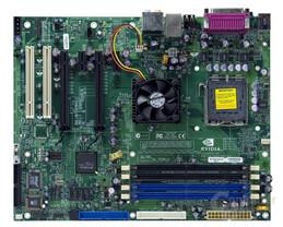 nForce4 SLI XE Gesamtansicht