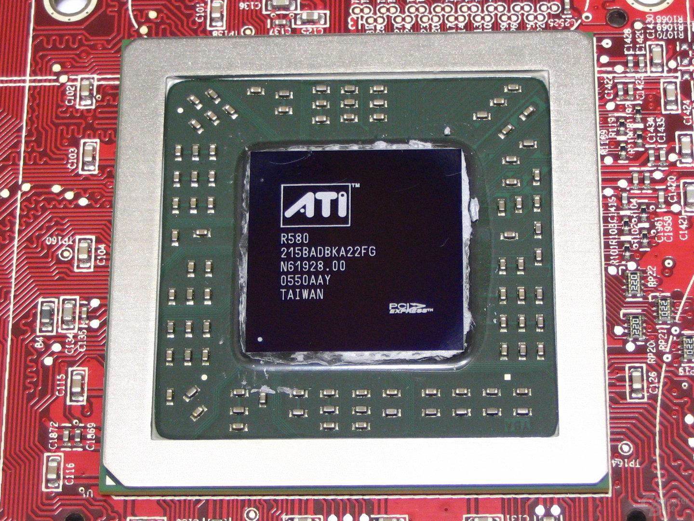 R580-Chip auf der X1900 XTX