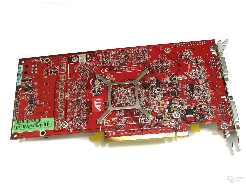 Rückseite Radeon X1900 XTX