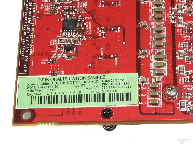 X1900 CF-Edition Aufkleber